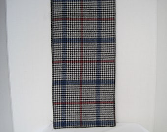 Mad for Plaid Scarf Vintage Scarf Mens Wear Trending