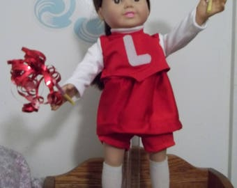 """18"""" doll Cheerleader outfit 333E"""