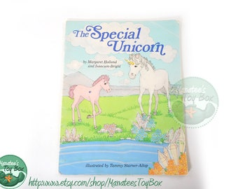 The Special Unicorn 1980s Childrens Fantasy Book Hard to Find