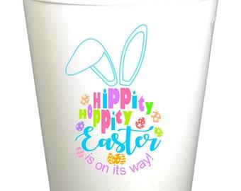 Hippity Hoppity Easter Bunny Styrofoam Cups