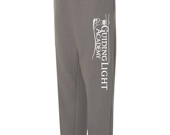 Guiding Light Academy Sweatpants - vertical leg impression