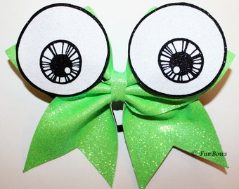 Cheer Halloween BIG EYES Spooky Hairbow by Funbows BOO !