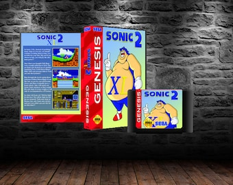 Sonic 2 XL - Fat Sonic Rolling Adventure through Sonic 2 - GEN