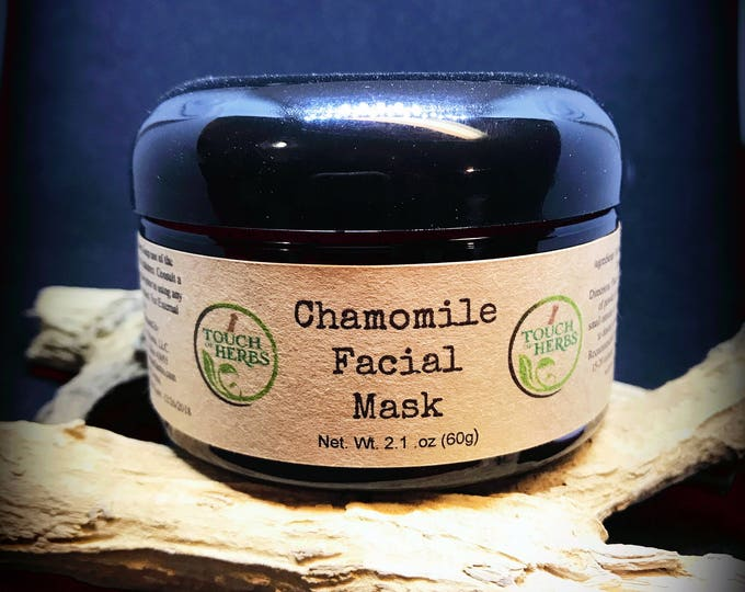 Mud mask - face mask with chamomile - sensitive skin - face mask skin - organic face mask - face mask for kids - clay mask - up to 25 masks