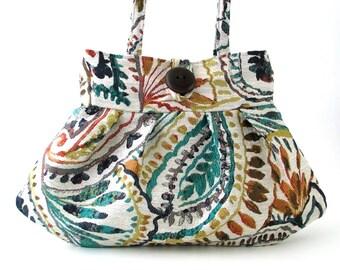 Paisley Geldbörse Retro Geldbeutel-kleine Tasche-Damen-Handtasche-Schulter Tasche - paisley-Tasche-Stoff-Tasche-Retro Tasche-Schulter-Tasche