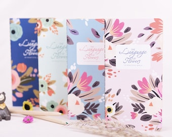 Flowers Traveler's Journal Notebook Journal Planner Journal Insert Planner Insert Hand Book