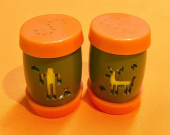 Vintage Salt and Pepper Shakers - St. Labre Indian School