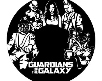 Guardians of the Galaxy Wall Art BL