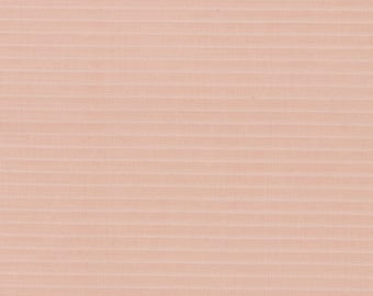 Pale Pink Fabric Pin stripe 3 yards, 44 ins. wide Slightly sheer Woven synthetic Adult blouse Child's dress Sold as one piece