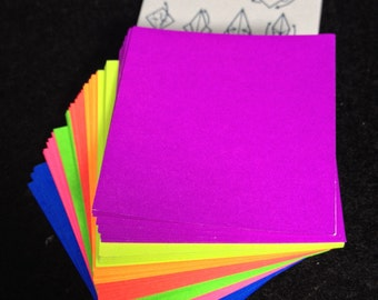 Origami Paper Origami Paper Cranes or Colourful 140 Sheets 7 Colours or Turtle 1.50""