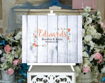 CANVAS Wedding Guest Book Canvas Guest book Alternative Wedding Guestbook Wedding Tree Wedding Guest Book Ideas Wedding Guestbook