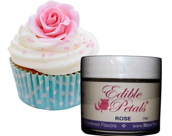 Edible Petals Scented Powdered Cake Decorating Dust Choose from 12 Fragrances by More Than Cake