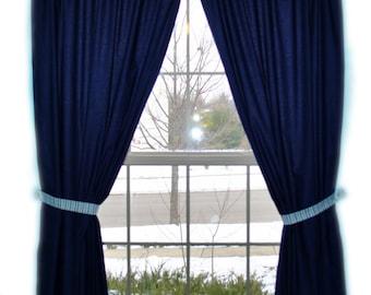 Custom Nursery Bedding Made to Order Curtain Panels for Crib Bedding
