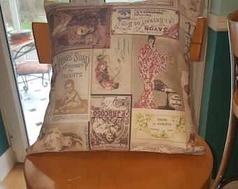 Vintage Soap Cotton Cushion