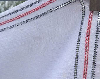 Soft pretty french linen tablecloth