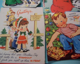 four charming and adorable cards