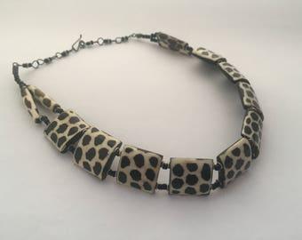 A Fabulous Vintage Tribal Necklace