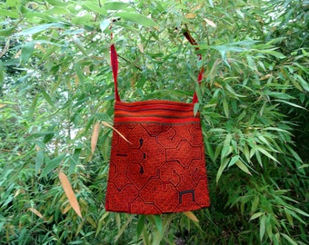 Shipibo Shaman Bag, bag, shoulder bag,