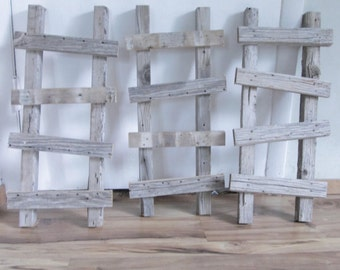 Barn wood ladder