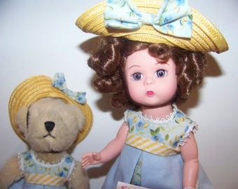 Teddy and Me Collecting Bears Madame Alexander set