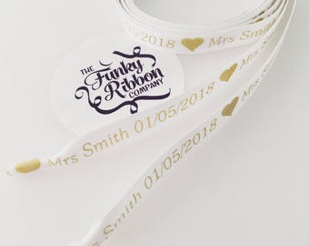 Personalised shoe laces