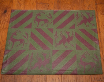 Medieval Checkered Floor Cloth