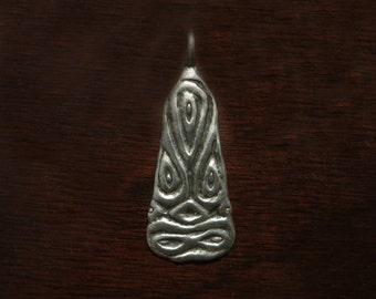 Viking Sea Monster Pendant