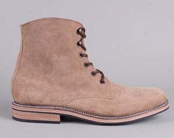 Brubeck Boot (Beige Suede)