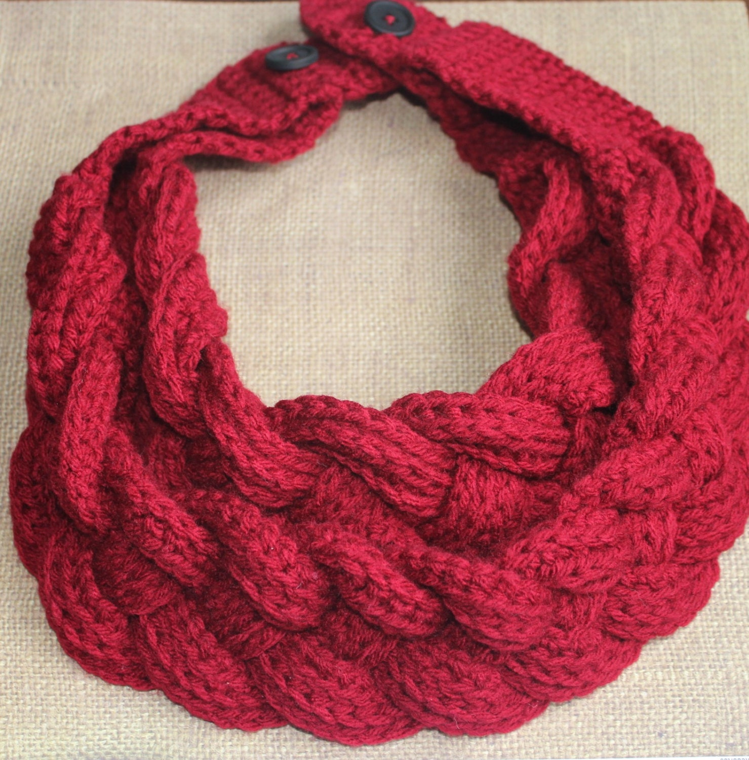 Enchanting Braided Cowl Crochet Pattern Picture Collection - Easy ...