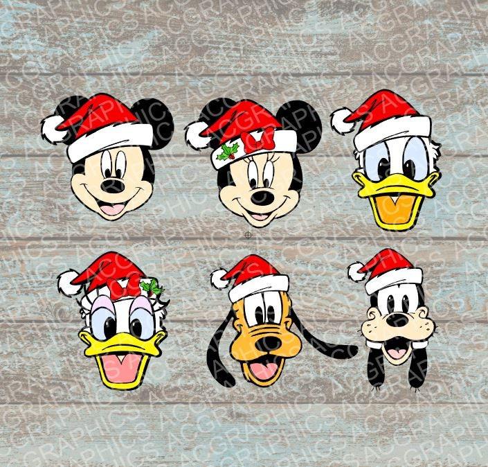 zoom - Disney Christmas Characters