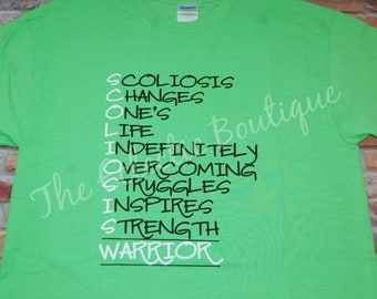 Scoliosis Warrior Shirt