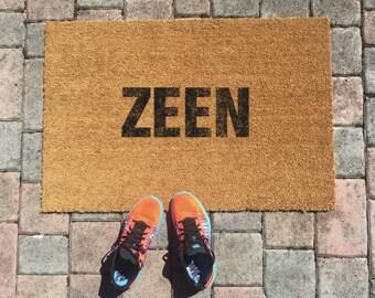 Zeen Jamaican Doormat by One Summer