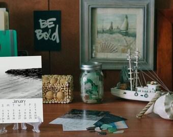 2018 Desk Calendar, Ocean Photography, 5x7, Fine Art Prints, Nature, Ocean