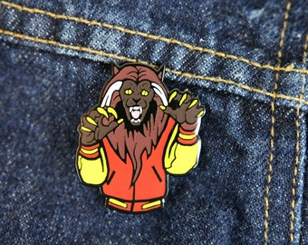 "MJ ""Thriller"" Inspired Enamel Pin -Flair- Christmas Gift - Stocking Stuffer"