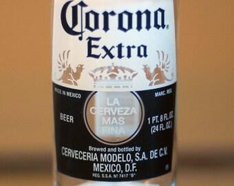 YAVA Glass - Upcycled Large Corona Extra Beer Bottle Glass