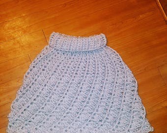 Quick and Easy One day poncho/cape