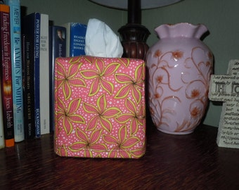 "Ready To Ship - ""Gypsy Caravan""  Tissue Box Cover"