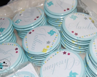 Place card magnets / Wedding guest gift