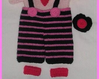 knitting pattern/ bunnie's clothes/ Teatime/ PDF knitting pattern/ Instand Download/doll's clothes