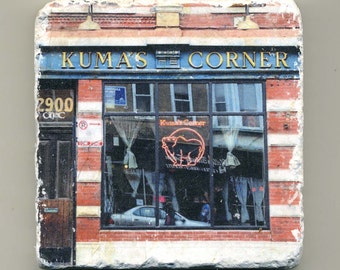 Kuma's Corner - The Original Charbroiled Hamburgers in Chicago - Original Coaster