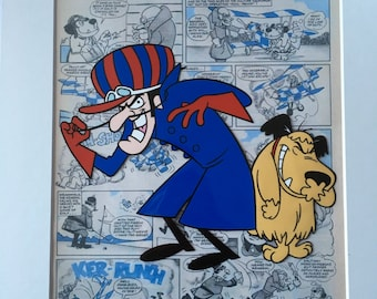 Wacky Races - Dastardly and Muttley - Hand drawn & hand painted cel