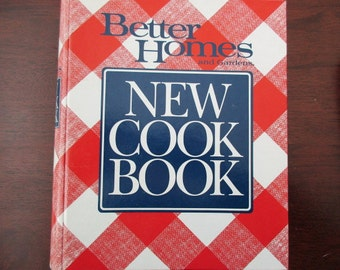 80s vintage book-Better Homes and Garden Cook Book