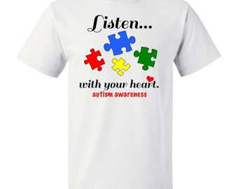 Autism Awareness T-Shirt by Inktastic