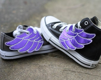 Royally Purple - Shoe Wings  )( Get your Shoe Shinez ON )(