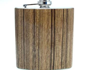 6oz Paldao Wood Flask Limited Edition