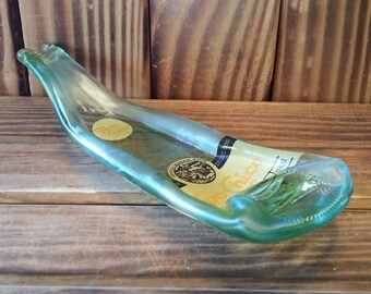YAVA Glass - NEW - Upcycled Topo Chico Mineral Water Bottle Spoon Rest