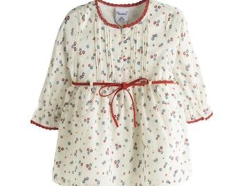 Dress vintage, romantic, celebration dress, dress girl, dress girl any time, Size 9,18 and 24  Months