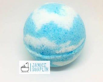Blueberry Muffin Bath bomb