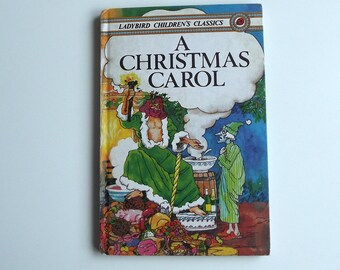 Vintage Ladybird Book - Charles Dickens' A Christmas Carol - excellent vintage condition- Children's Story Book