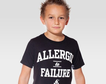 Allergic to Failure Youth Shirt (3 Colors)